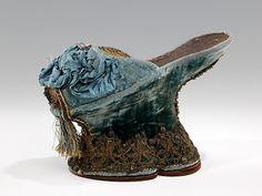 (via The Metropolitan Museum of Art - Shoes (Chopines)) 1600