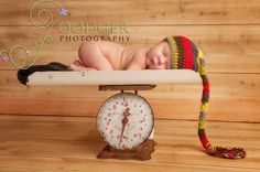 Hansel  Crochet Elf Hat for  newborn baby  by ImaginationCouture, $34.00