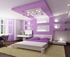 Výsledky obrázků Google pro http://bedroomtrends.net/wp-content/uploads/2012/07/Purple-bedroom-ideas-for-girls-579x472.jpg