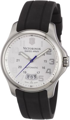 Victorinox Swiss Army Men's 241371 Officer's Silver Dial Watch