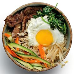 Korean Recipes: Bibimbap with Beef Bulgogi | Women's Health Magazine...