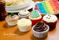 Dessert Recipes, Desserts, Mini Cupcakes, Christmas, Food, Tailgate Desserts, Xmas, Dessert, Weihnachten