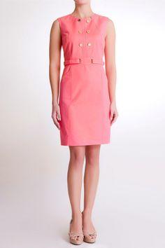Coral Dress #pedrodelhierro #pdh #dress #summerdress #floraldress