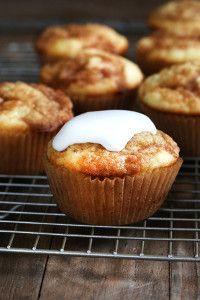 Gooey Cinnamon Roll Cupcakes - a Top 100 gluten free recipe of 2014! - FaveGlutenFreeRecipes.com