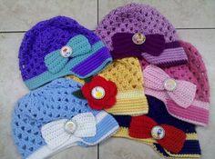Crocheted Disney Princess Youth Hat.