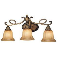 French country lighting on pinterest ceiling fans minka for French country bathroom lighting