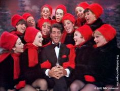 Dean Martin and The Golddiggers from his 1968 Christmas Special on NBC