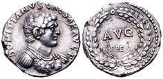 AR Denarius. Roman Imperial, Domitian, as Caesar, Ephesus. 71 AD. 18mm, 3,35g, 5h. RIC II 1445 (Vespasian). EF. Price realized (2.7.2016): 5.006 EUR.