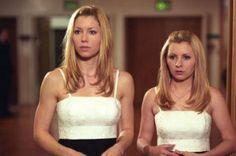 7th Heaven-Mary & Lucy Camden (Jessica Biel & Beverly Mitchel)- Matts Wedding. Season 6.