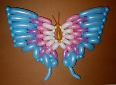 Butterfly Twist Balloon we like it www.partymagicplease.webs.com
