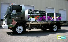 This is one landscape truck you will really notice.....