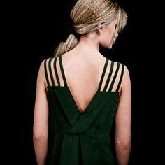 Pantheone Dress Green