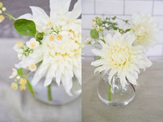 Dahlias are ideal for use anywhere in your wedding, from garnishing your wedding cake to filling out your amazing centerpieces.