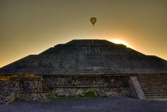 Teotihuacan is a remnant of an ancient deserted mega-metropolis in Mexico, just 50 kilometers from the country's capital of Mexico City.