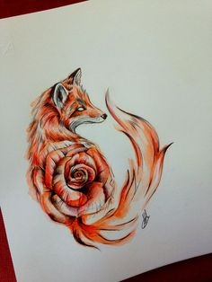 Fox is becoming more common among women and men in term of tattoos all over the world, you are able to see a lot of people wearing fox tatto...