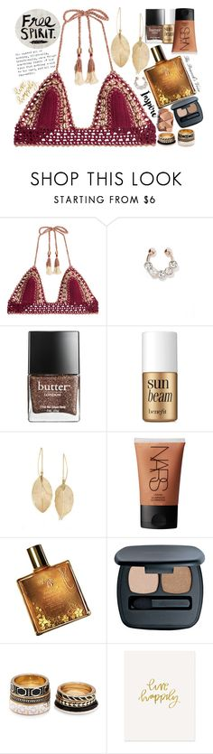 """""""Free Spirit"""" by fra3 ❤ liked on Polyvore featuring SHE MADE ME, Butter London, Benefit, Lulu*s, NARS Cosmetics, Lucy B., Bare Escentuals, Forever 21 and The Pink Orange"""
