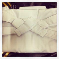 Proper way to fold Hakama
