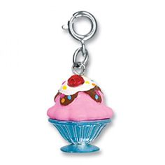 Pretty please with a sparkling cherry on top! #CHARMIT  #giftsforgirls #charms