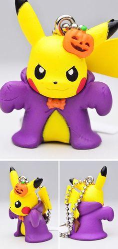 Pokemon Swing Mascot PVC Figure Keychain Halloween ~ Witch Pikachu @83807 | eBay