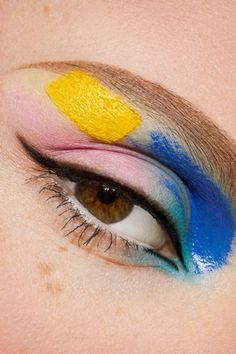 Leave the rainbow look to the experts- book your next consultation with Beauty Make Up, My Beauty, Makeup Inspo, Makeup Inspiration, Bauhaus, Eye Makeup, Hair Makeup, High Fashion Makeup, Neutral Makeup