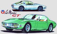 Illustrations, Illustration Art, Alpine Renault, Car Drawings, Automotive Art, Custom Art, Hot Cars, Caricature, Classic Cars