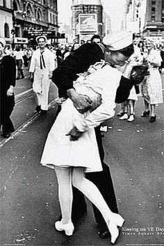 Kissing Nurse Photograph