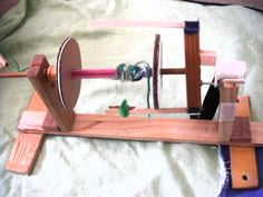 Yay! DIY Electric Spinning Wheel that works ~ Untangled Inventions