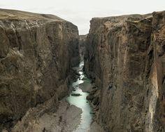 Olaf Otto Becker  Canyon of Jökulsá á Brú, 2011