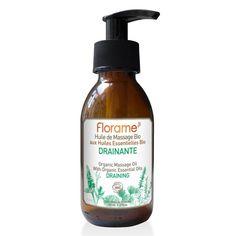 Huile de Massage Drainante Florame Massage Relaxant, Soap, Bottle, Anti Cellulite, Beauty, Massage, Massage Oil, Feel Better, Beauty Care