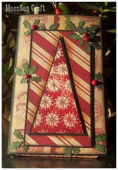 MoonSun Craft Christmas card Advent Calendar, Christmas Crafts, Holiday Decor, Cards, Home Decor, Handmade Christmas Crafts, Decoration Home, Maps, Interior Design