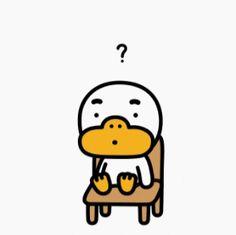 Kakao Friends, Line Friends, Emoticon, Funny Stickers, Little Girls, Gifs, Illustrations, Wallpaper, Random