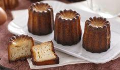 cannelés Inratables au Thermomix,des petits gâteaux parfumés au rhum et à la vanille très facile à faire et idéal à déguster à toutes heures de la journée.