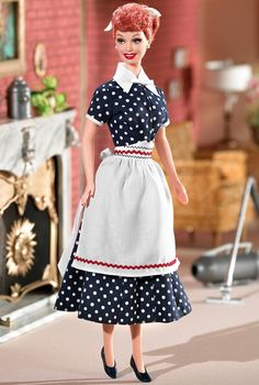 Barbie Lucy - I Love Lucy é uma das mais aclamadas e populares comédias da televisão norte-americana, estrelada por Lucille Ball, Desi Arnaz, Vivian Vance e William Frawley. A série foi ao ar de 15 de outubro de 1951 a 1 de abril de 1960 na CBS.