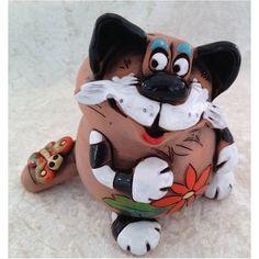 Spardose Katze sitzend mit Schmetterling 70107-83 auf dem Schwanzaus Keramik in Sammeln & Seltenes, Weitere Sammelgebiete, Spardosen | eBay