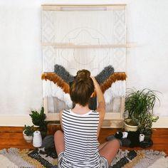 Southwestern WIP Weaving by Willow Brooke Design