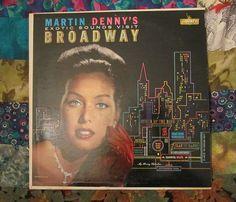 Martin Denny's Exotic Sounds Visit Broadway (1960, Easy Listening, LP Vinyl Record)$11