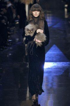 Jean Paul Gaultier F/W 2006  cat lady chic
