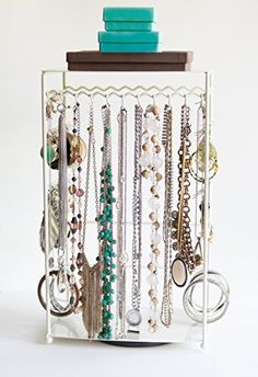 BelleDangles Jewelry Stand with Turntable