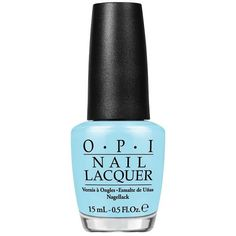 Sailing & Nail-ing from the OPI Retro Summer Collection. A light, breezy blue to charm your first mate. A new pair of designer sunglasses, a few barely there sundresses, and a collection of flirty san