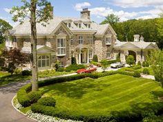 Stone manor by architects Kean Williams Giambertone.