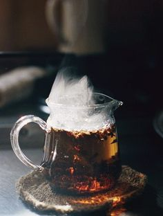 Tea and steam