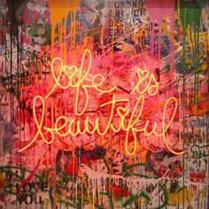 After appearing in Banksy's Oscar nominated film, 'Exit Through The Gift Shop', Mr Brainwash has achieved worldwide recognition for his. Bedroom Wall Collage, Photo Wall Collage, Mr Brainwash Art, Graffiti Wall Art, Amazing Street Art, Street Artists, Banksy, Urban Art, Artwork Prints
