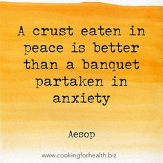 Food quote by Aesop.