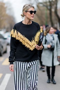 awesome Milan Fashion Week street style