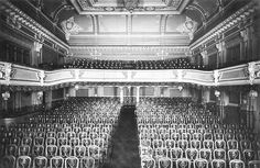 Interior of the The Passage Theater and Music Hall, before 1914.