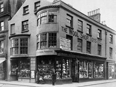 1915 wool shop, Demolished to build the Arcade Wool Shop, Worthing, Old Photos, Brighton, Arcade, England, History, Nostalgia, Building