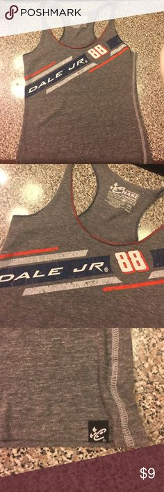 Dale Jr NASCAR tank Size M! NEW without tags, bought to wear to a rodeo and changed my mind about it. nascar Tops Tank Tops