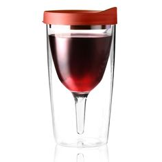 Yep, it's a thing - a travel mug just for wine. Is it bad that I kind of want one? Vino 2 Go Wine Tumbler In Black. Good for camping Wine Lovers, My Pool, In Vino Veritas, Insulated Tumblers, Wine Tumblers, Wine Carafe, Drinkware, Barware, Oeuvre D'art