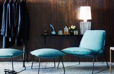 LOVE the colour of the chair! - Sköna hem