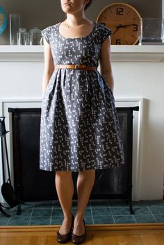 Love this version of the washi dress